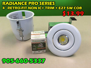LED BULBS / POT LIGHTS  / ELECTRICAL SUPPLIES BLOWOUT PRICES!!!