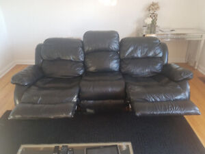 Leather couch good condition