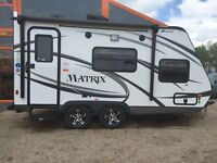 2016 Gulf Stream Matrix 7 ft. Wide Light Weight 718FB