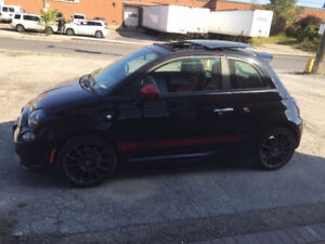 2015 Fiat 500 Abarth Coupe (2 door)