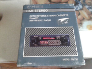 New  in the box  Curtis  car stereo