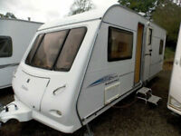 Elddis Firestorm 534 2006 4 Berth Fixed Bed Touring Caravan With MotorMover