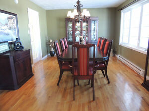 Gorgeous Cherry Wood Dining Set