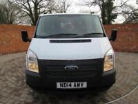 FORD TRANSIT 350 DOUBLE CAB 1 WAY TIPPER LWB 125 BHP ONE STOP 6 SEATS
