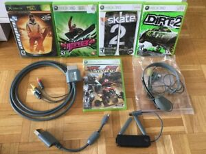 Cable audio video, RCA, Skate 2, WIFI, Casque