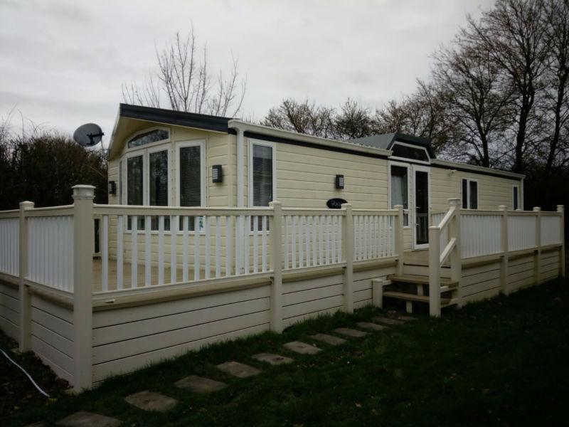 XL Static Caravan Decking | Mobile Home Veranda Balcony ...