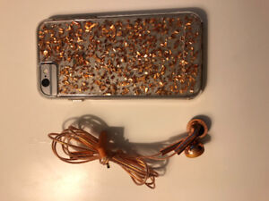 Perfect condition I Phone 6, 16 GB with case and headphones