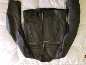 Men's Motorcycle Leather Jacket Brand New