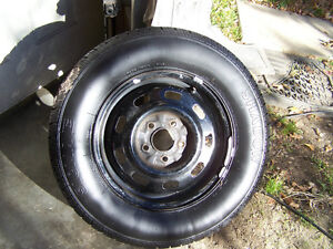 Mercury Villager (5 x 114.3) Rims and 15 inch tires Strathcona County Edmonton Area image 2