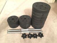30kg home weights set - adjustable