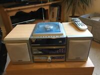 Hitachi CD player/DAB radio