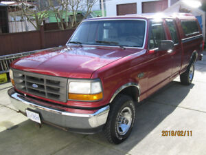 Really Nice 1994 Ford F 150 XL 158,000 kms