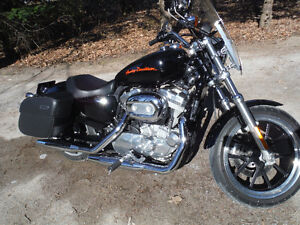 2013 Harley Davidson Sportster 883 Superlow