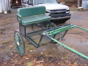 East entry horse/pony cart