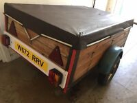 """Trailer with Cover 5"""" x 3"""" £130"""