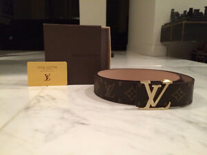 Men's LV Belt. New. Comes with Original Case. Price is Firm