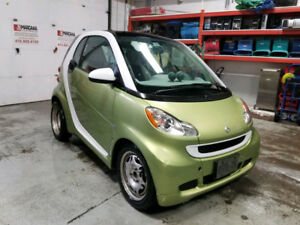 2011 Smart Car Passion trim - green