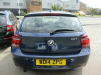 2014 (14) BMW 116i SPORT 5 Doors Blue Manual Petrol Alloys BT A/C DAB SH