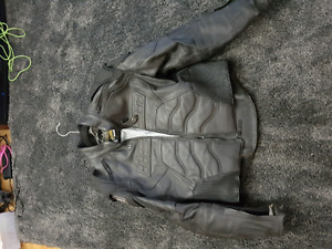 $250 or OBO Motorcycle Leathrr Jacket - Icon Timax (Medium)