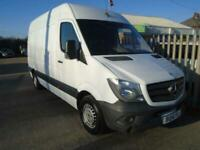 2014 Mercedes-Benz Sprinter 2.1 CDI 313 High Roof Panel Van 4dr MWB Panel Van Di