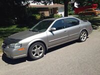2001 Nissan Maxima - Must be sold this week!!