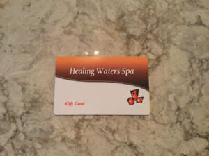 Just in time for Mother's Day!!  SPA GIFT CARD
