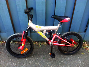 Boys NEXT 16 DS Mountain bike 16 inch tires Works good