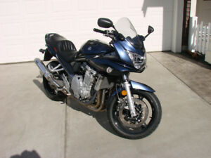 2008 Fuel injected 1250 Bandit with low km.