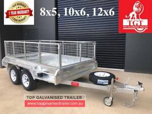 10X5 Galvanised Trailer Heavy Duty Electric Brake 2800 kg ATM 600mm Ca Narre Warren Casey Area Preview