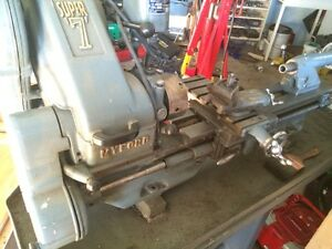 Myford Super 7 lathe with accessories