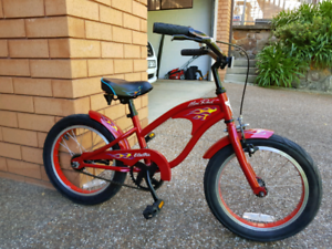 Flaming restro style kids bicycle