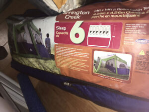 6 person tent with outer screened in section