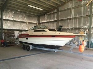For trade: 25 ft cruiser, runs great