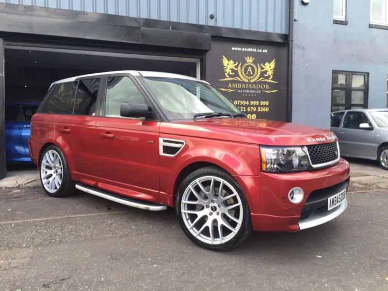 land rover range rover sport 3 6td v8 2012 autobiography red edition in edgbaston west. Black Bedroom Furniture Sets. Home Design Ideas