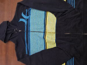 Hoodies and Jackets: Adidas, Hurley, Under Armour, Roots, Plus