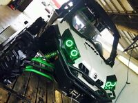 2014 Can Am Commander Ltd. MANY UPGRADES
