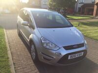 Ford s max zetec tdci 140 silver 7 seat panoramic roof 49,243 miles
