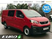 2017 Peugeot Expert 2.0 Blue Hdi Professional Kombi LWB EURO 6 *NO VAT* Combi Va