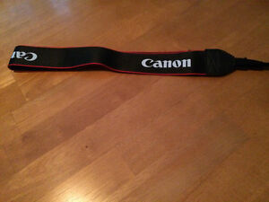 """""""Canon"""" Camera Strap - new / never used - only $7 !!"""
