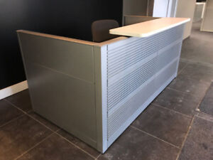 Reception Desks - multiple options all in stock