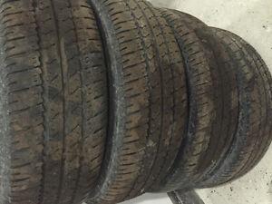 Firestone winter tires and rims