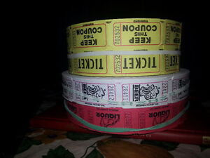 ticket spools perfect for your event! Cambridge Kitchener Area image 1
