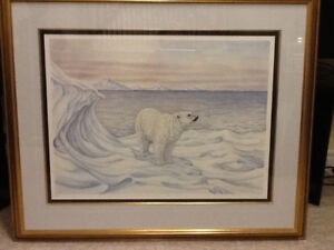 CHRISTINE MARSHALL - WILDLIFE PRINT - POLAR BEAR