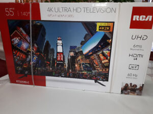 "55"" RCA 4K Ultra HD Television"