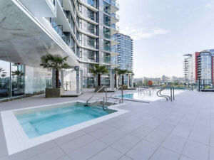 Vancouver Downtown furnished 1 bdr+ 1 flex+1 den@one pacific