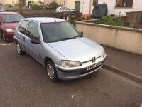 Peugeot 106 zest 2 diesel mot Feb £350