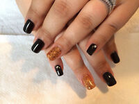 Pose d'ongles a at Michel