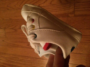 Size 3 white shoes