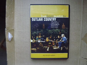 "FS: 1996 Live From Austin, TX ""Outlaw Country"" DVD"