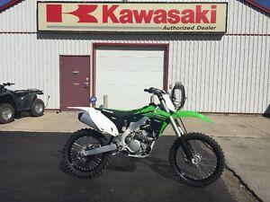 New 2015 Kawasaki KX250F